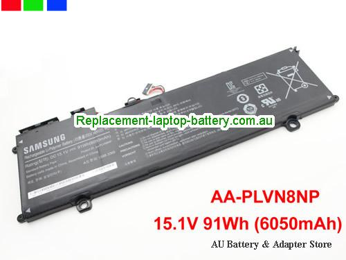 SAMSUNG NP770Z5E-SO1UK Battery 6050mAh, 91Wh  15.1V Black Li-Polymer