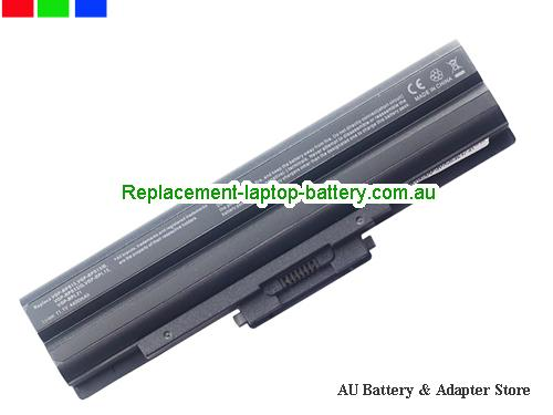 SONY PCG-31311W Battery 5200mAh 10.8V Black Li-ion