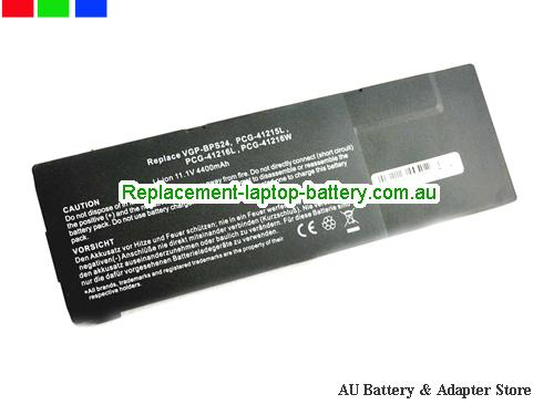 SONY VGP-BPS24 Battery 4200mAh 11.1V Black Li-ion