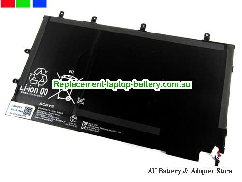 SONY SGP311 GB/B Battery 6000mAh, 22.2Wh  3.7V Black Li-ion