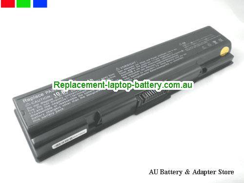 TOSHIBA Satellite A205-S5806 Battery 5200mAh 10.8V Black Li-ion