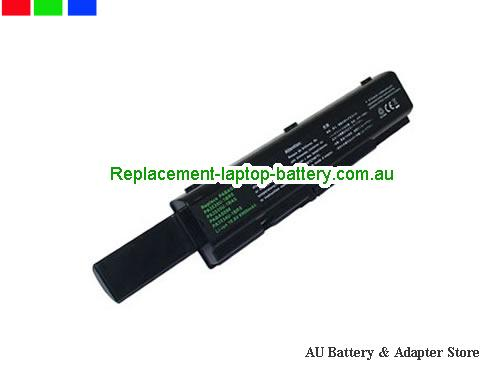 TOSHIBA Satellite A205-S5806 Battery 6600mAh 10.8V Black Li-ion