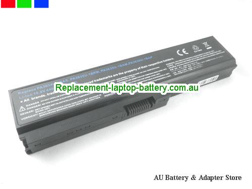 TOSHIBA Dynabook Satellite U500 Battery 5200mAh 10.8V Black Li-ion