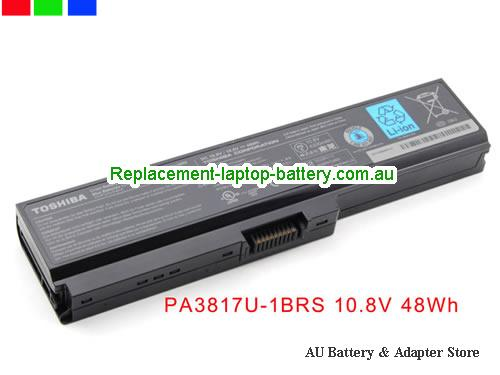 TOSHIBA Satellite L645 Series Battery 4400mAh 10.8V Black Li-ion