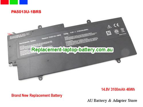 AU Toshiba PA5013U-1BRS Battery For Portege Z830 Z930 Z835 Z935 Series Laptop 47Wh