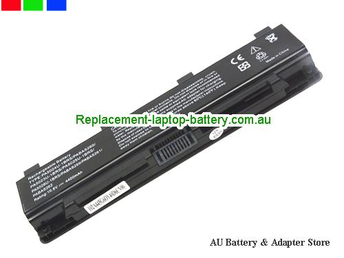 TOSHIBA PA5108U-1BRS Battery 5200mAh 10.8V Black Li-ion