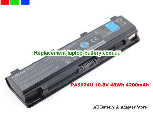 TOSHIBA PA5108U-1BRS Battery 4200mAh, 48Wh  10.8V Black Li-ion