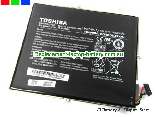 TOSHIBA PA5123U1BRS Battery 4230mAh, 33Wh  7.4V Black Li-ion