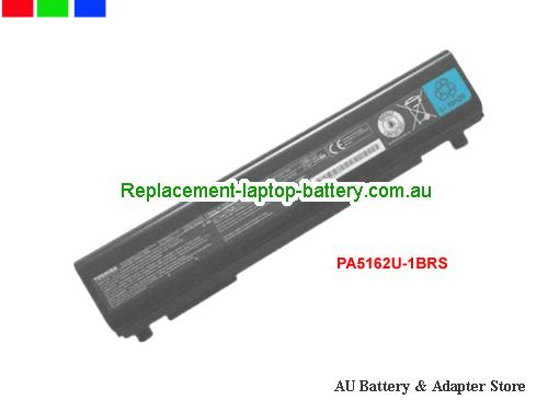 TOSHIBA PA5162U-1BRS Battery 5800mAh, 66Wh  10.8V Black Li-ion