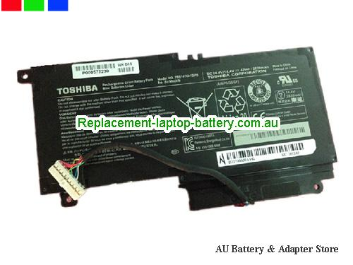 TOSHIBA S55A5294 Battery 2838mAh, 43Wh  14.4V Black Li-ion