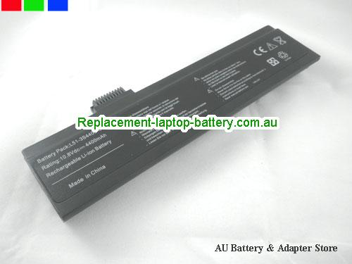 ADVENT L51-4S2200-S1P3 Battery 4400mAh 11.1V Black Li-ion