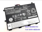 Genuine LENOVO ThinkPad Yoga 11e Battery 34Wh, 7.4V, Black , Li-Polymer
