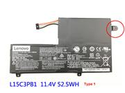Lenovo L15C3PB1 Rechargeable Li-ion battery 52.5Wh