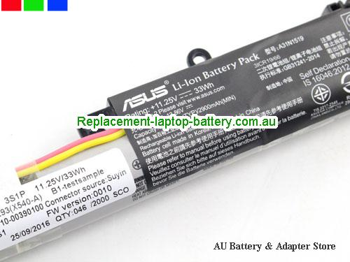 image 2 for Battery R540L, Australia ASUS R540L Laptop Battery In Stock With Low Price