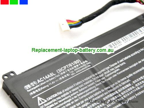 image 2 for Au online offer ACER AC14A8L Aspire V Nitro VN7-591G Laptop Battery Black