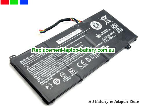 image 5 for Au online offer ACER AC14A8L Aspire V Nitro VN7-591G Laptop Battery Black