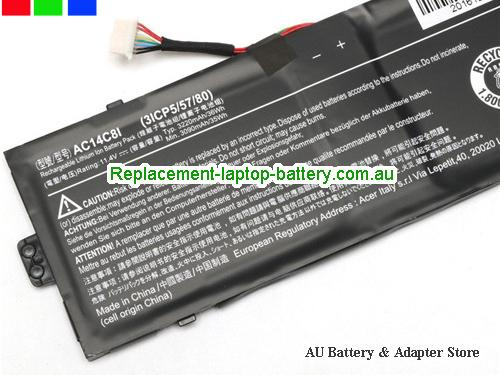image 2 for Au online offer ACER AC14C8I Battery For Aspire Switch 12 notebook Black