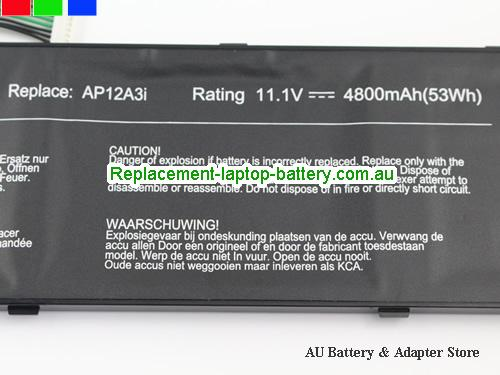 image 3 for Battery BT.00304.011, Australia ACER BT.00304.011 Laptop Battery In Stock With Low Price