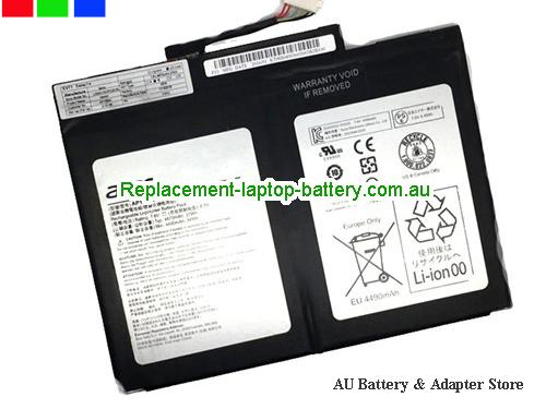 image 1 for Au online offer Genuine ACER AP16B4J Battery For Aspire Switch Alpha 12 SA5-271 series Black