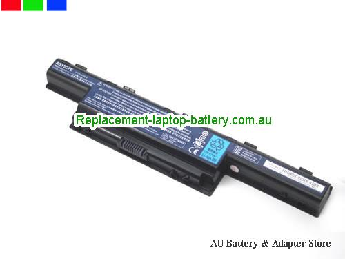 image 2 for Au online offer Genuine Laptop Battery for Acer Aspire 4333 4339 4349 AS10D5E 6000mah Black
