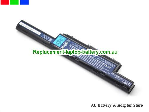 image 3 for Au online offer Genuine Laptop Battery for Acer Aspire 4333 4339 4349 AS10D5E 6000mah Black