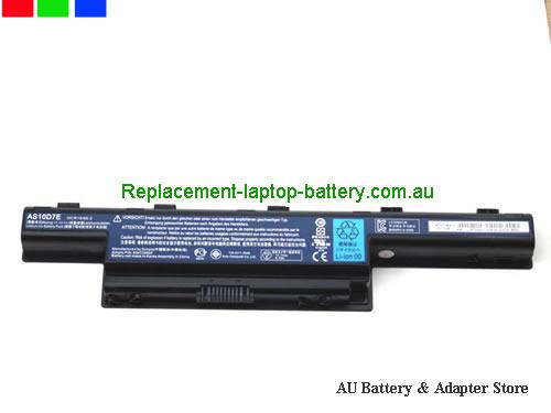 image 5 for Au online offer Genuine Laptop Battery for Acer Aspire 4333 4339 4349 AS10D5E 6000mah Black