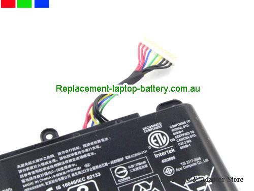 image 5 for Au online offer Genuine Acer AS15B3N Battery For Predator 15 17 Series Laptop 88.8Wh Black