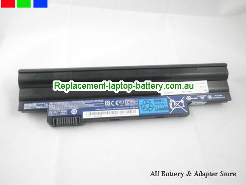 image 5 for Au online offer Acer AL10B31 AL10A31  Replacement Laptop  Battery For Acer Aspire One D260 D255 Black