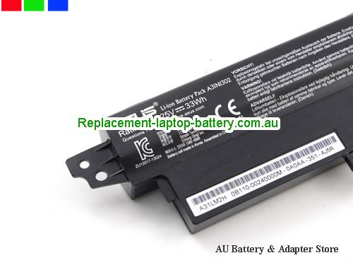 image 3 for Battery A3INI302, Australia ASUS A3INI302 Laptop Battery In Stock With Low Price