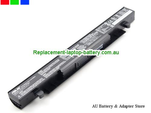 image 1 for Au online offer Genuine ASUS X550 A41-X550 A41-X550A battery for ASUS X550C X550B X550V X550D X450C X450 X452 Battery 14.4V 37WH Black