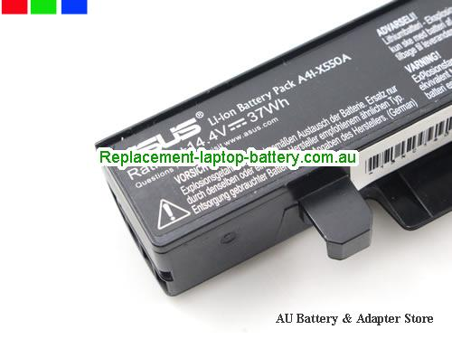 image 2 for Au online offer Genuine ASUS X550 A41-X550 A41-X550A battery for ASUS X550C X550B X550V X550D X450C X450 X452 Battery 14.4V 37WH Black