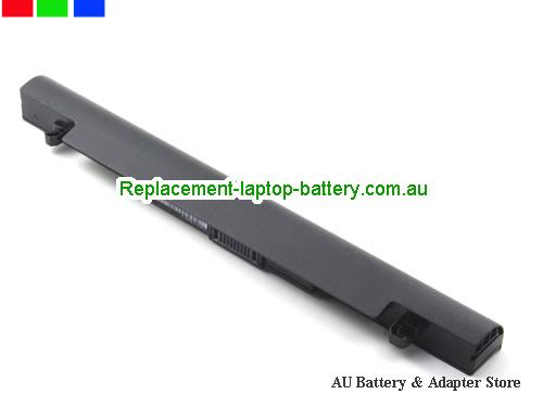 image 4 for Au online offer Genuine ASUS X550 A41-X550 A41-X550A battery for ASUS X550C X550B X550V X550D X450C X450 X452 Battery 14.4V 37WH Black