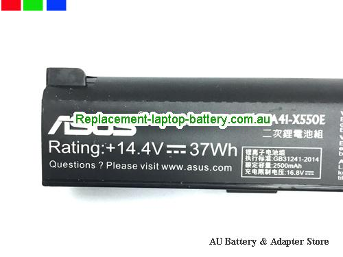image 2 for Battery A41-X550E, Australia ASUS A41-X550E Laptop Battery In Stock With Low Price