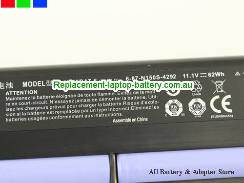 image 2 for Battery SM-15, Australia AFTERSHOCK SM-15 Laptop Battery In Stock With Low Price