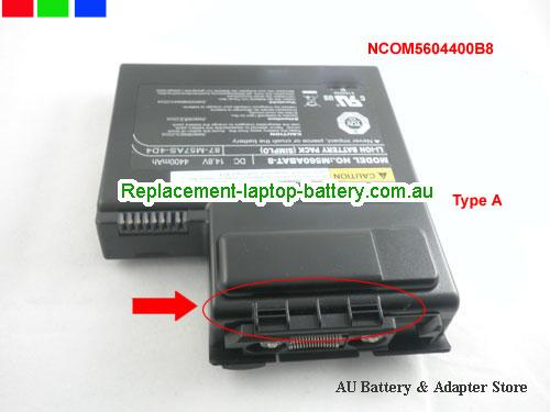 image 1 for Battery M57A, Australia SAGER M57A Laptop Battery In Stock With Low Price