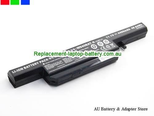 image 1 for Battery W540BAT-6, Australia CLEVO W540BAT-6 Laptop Battery In Stock With Low Price
