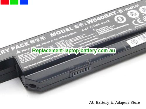 image 3 for Battery W540BAT-6, Australia CLEVO W540BAT-6 Laptop Battery In Stock With Low Price