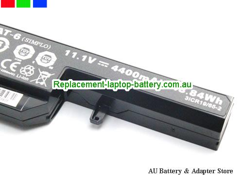 image 4 for Battery W540BAT-6, Australia CLEVO W540BAT-6 Laptop Battery In Stock With Low Price