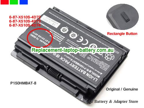 image 1 for Battery X811 980M 48SH1, Australia TERRANS FORCE X811 980M 48SH1 Laptop Battery In Stock With Low Price