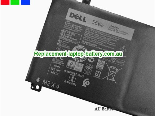 image 2 for XPS15 9550 Battery, AU Dell XPS15 9550 Laptop Battery in stock