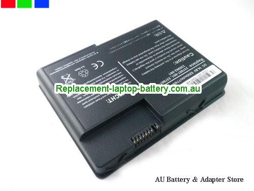 image 1 for Au online offer DL615A DG103A 337607-001 336962-001 Battery For HP Compaq Presario X1000 Pavilion Zt3000 Series Laptop 4800AH Black