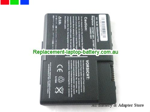 image 3 for Au online offer DL615A DG103A 337607-001 336962-001 Battery For HP Compaq Presario X1000 Pavilion Zt3000 Series Laptop 4800AH Black