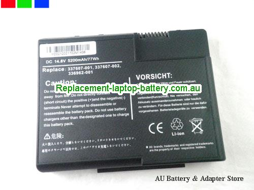 image 5 for Au online offer DL615A DG103A 337607-001 336962-001 Battery For HP Compaq Presario X1000 Pavilion Zt3000 Series Laptop 4800AH Black