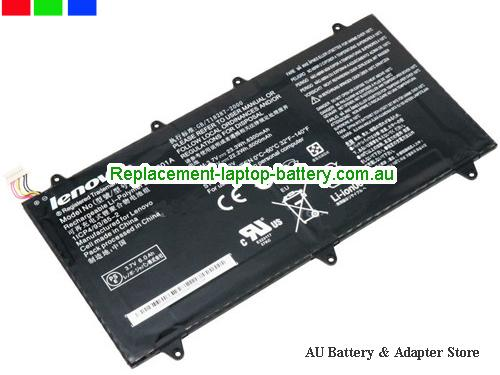 image 1 for Au online offer Genuine 6000mah Lenovo H12GT201A Battery For  IdeaTab A2109A Black