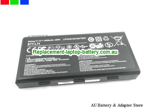 image 5 for Battery A6000, Australia MSI A6000 Laptop Battery In Stock With Low Price
