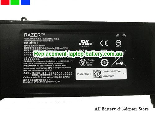 image 2 for Battery Razer Blade 14(512GB), Australia RAZER Razer Blade 14(512GB) Laptop Battery In Stock With Low Price