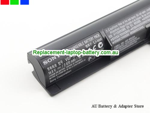 image 2 for Battery Vaio SVF14215SC SVF152A24, Australia SONY Vaio SVF14215SC SVF152A24 Laptop Battery In Stock With Low Price