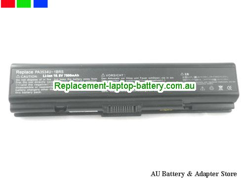 image 5 for Battery Satellite A205-S5806, Australia TOSHIBA Satellite A205-S5806 Laptop Battery In Stock With Low Price