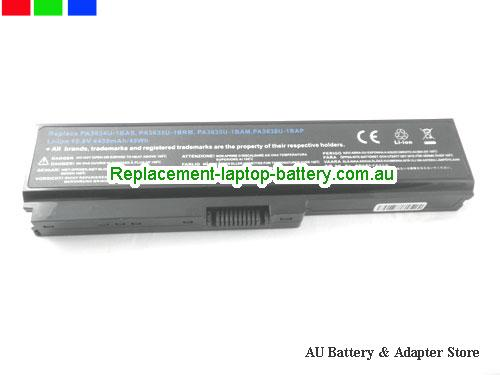 image 5 for Battery Dynabook Satellite U500, Australia TOSHIBA Dynabook Satellite U500 Laptop Battery In Stock With Low Price