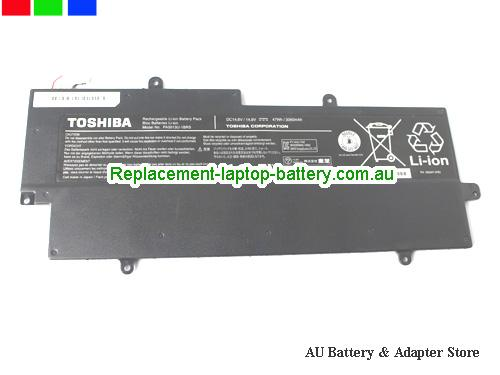 image 1 for Au online offer Toshiba PA5013U-1BRS Battery for Ultrabook Z830 Z835, 47Wh Black